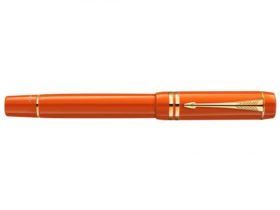 Ручка-роллер Parker Duofold T74 Historical Colors Big Red GT чернила черные корпус оранжевый 1907193 teresian leadership a historical analysis