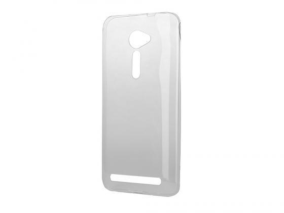 цена на Чехол силикон iBox Crystal для  Asus Zenfone 2 ZE500CL серый