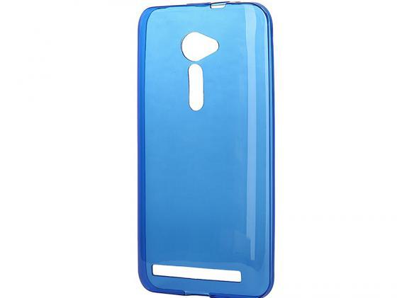 Чехол силикон iBox Crystal для Asus Zenfone 2 ZE500CL синий аксессуар чехол asus zenfone 2 ze500cl 5 mercury case white t m az2 001