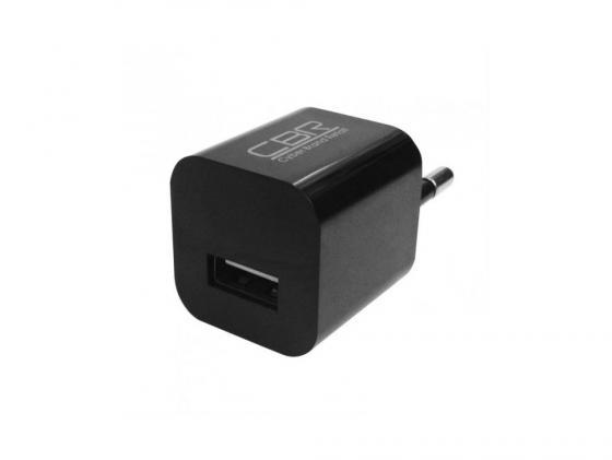 Сетевое зарядное устройство CBR Human Friends Max Power Solo 1A USB черный