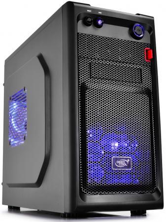 Корпус microATX Deepcool Smarter LED Без БП чёрный бп atx 480 вт deepcool explorer de480