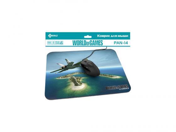 Коврик для мыши KREOLZ PAN-14 Jet Plane borodist воск для усов premium air wax 13г
