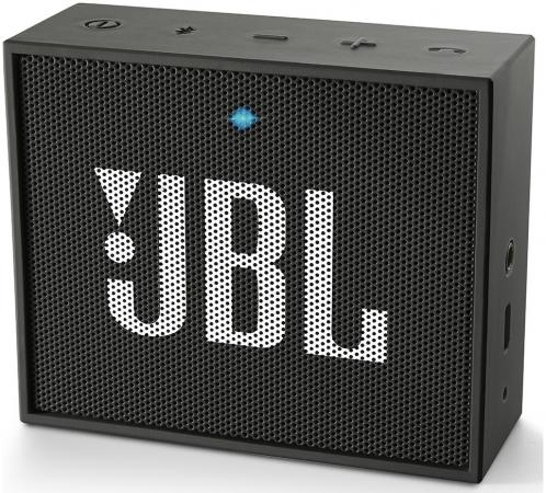 Портативная акустика JBL GO черный JBLGoBlack jbl charge3 jbl charge3 hifi портативная акустика bluetooth