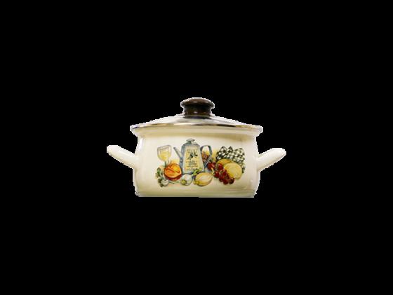 Фото - Кастрюля Interos 15157 Аппетит 4,0 л чайник interos 15157 аппетит 3 л металл белый рисунок