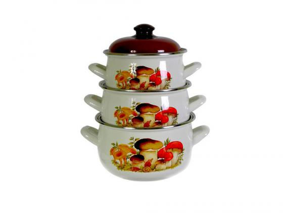 все цены на Набор посуды Interos 15251 Грибы онлайн