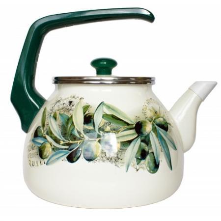 Чайник INTEROS 15231 рисунок 3 л нержавеющая сталь кастрюля interos 15231 маслины 5 7 л углеродистая сталь