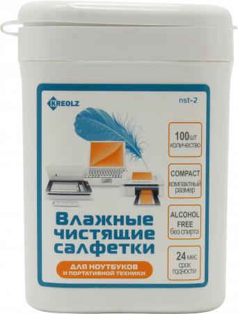 Влажные салфетки Kreolz NST-2 100 шт 100% new sr1yw n3540 bga chipset