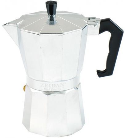 Кофеварка Zeidan Z-4107 серебристый термокружка zeidan z 9056 0 45л серебристый жёлтый
