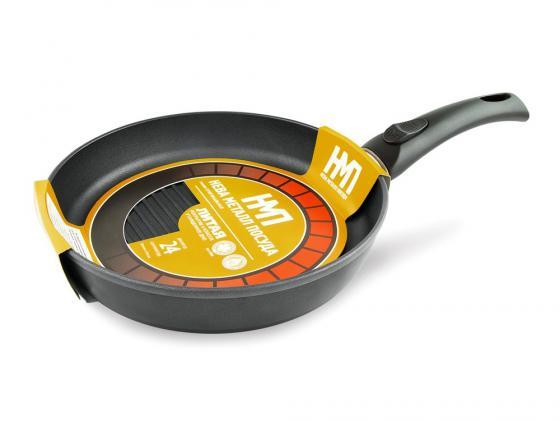 Сковорода Нева-Металл 4424 оригинальная 24 см — алюминий кастрюля жаровня нева металл 662435с 24 см 3 5 л алюминий