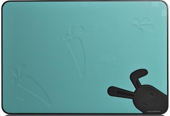 """все цены на Подставка для ноутбука 17"""" Deepcool N2 Black 380x260x26mm USB 640g 20dB черно-синий онлайн"""