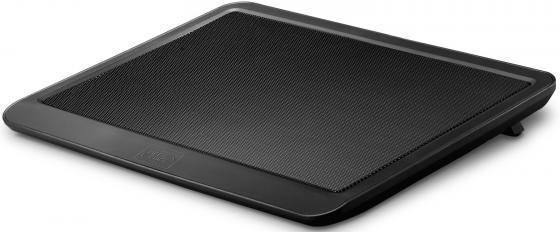 Подставка для ноутбука 14 Deepcool N19 330x250x24mm 1xUSB 530g 21dB черный deepcool n19 slim black