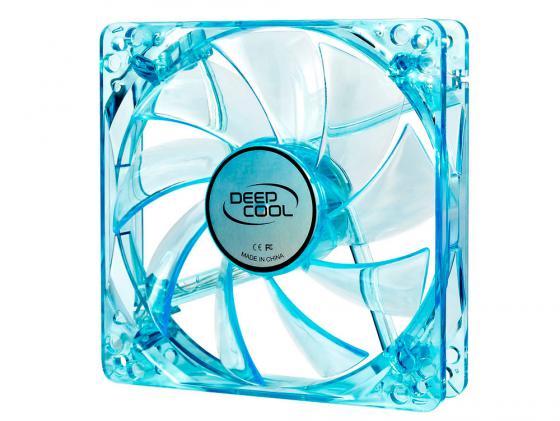 Вентилятор Deepcool XFAN 120U B/B 120x120x25 3pin 26dB 1300rpm 120g синий LED deepcool
