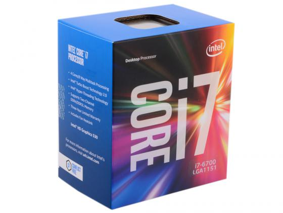 Процессор Intel Core i7-6700 3.4GHz 8Mb Socket 1151 BOX цена и фото