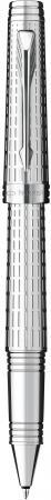Ручка-роллер Parker Premier DeLuxe T562 Chiselling ST черный S0887990 ручка перьевая parker premier deluxe f562 s0887970 chiselling st f перо золото 18k