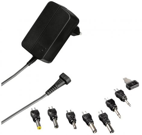 Сетевое зарядное устройство Hama H-121971 0.6А черный