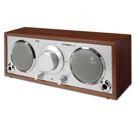 Радиоприемник First 1907-1 серебристо-коричневый радиоприемник first 1900 2 черный