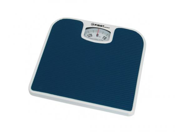 Весы напольные First 8020 синий