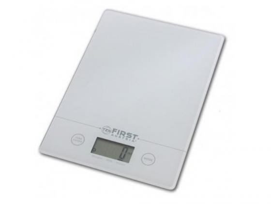 все цены на Весы кухонные First 6400 электронные белый онлайн