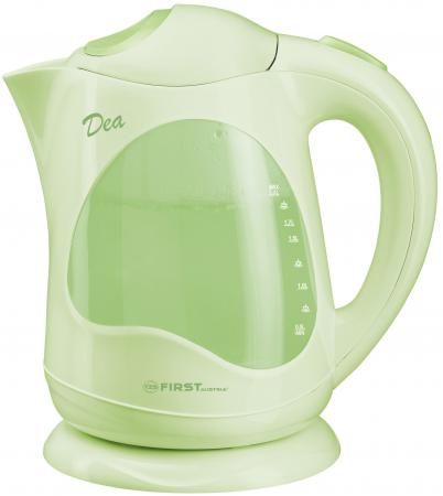Чайник First 5430 2200 Вт 2 л пластик зелёный