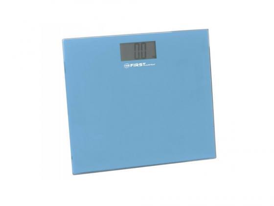 Весы напольные First 8015-2 синий весы first fa 8015 2 blue