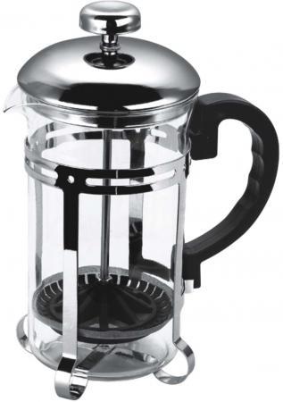 Чайник заварочный Bekker BK-317 0.35 л металл/стекло серебристый