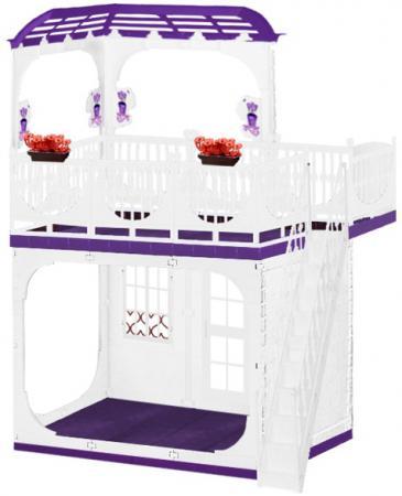 Дом для кукол Огонек Конфетти С-1334 аксессуары для кукол огонек дачный дом конфетти
