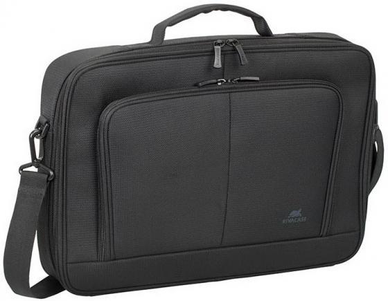 Сумка для ноутбука 15.6 Riva 8431 полиэстер черный сумка для ноутбука riva 8431 15 6 полиэстер черный