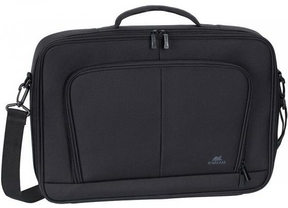 """все цены на Сумка для ноутбука 17.3"""" Riva 8451 полиэстер черный онлайн"""
