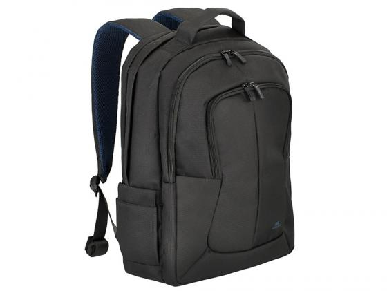 """Рюкзак для ноутбука 17"""" Riva 8460 синтетика черный"""