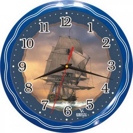 Часы Вега П 1-1074/7-13 часы вега п 1 247 7 247 желтые тюльпаны