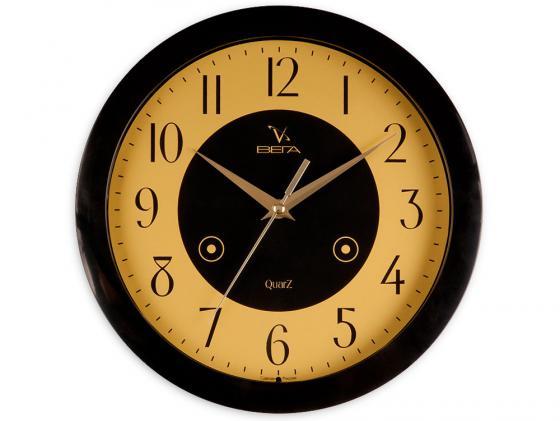 Часы настенные Вега П 1-6/6-16 часы вега п 6 6 55 классика