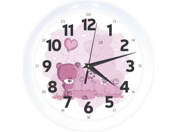 Часы настенные Вега ВЕГА П 1-7/7-203 разноцветный белый часы вега п 1 247 7 247 желтые тюльпаны