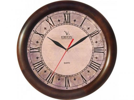 Часы Вега Д 1 МД 6 139 коричневый часы настенные вега д 1 мд 7 8 парусник