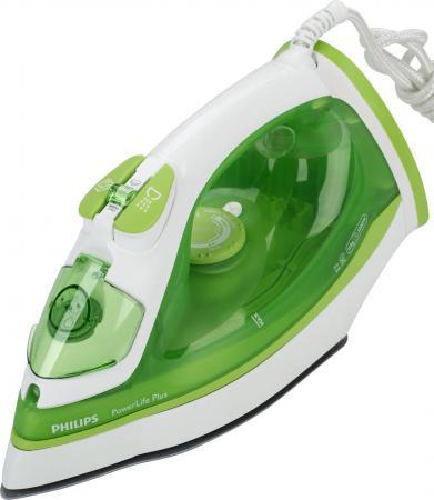 Утюг Philips GC2980/70 2200Вт бело-зеленый philips gc 2980 70 powerlife plus