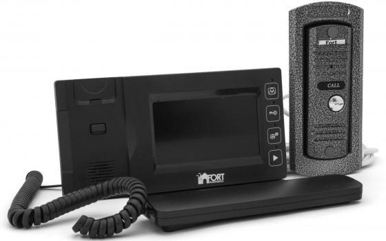 Видеодомофон FORT Automatics С0408HF настольная лампа fort automatics tbl 10 белый серебристый