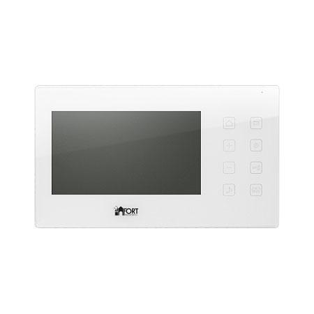 Видеодомофон FORT Automatics C0702HF муляж камеры видеонаблюдения fort automatics dc 027 наружное исполнение красный светодиод ret фиоле