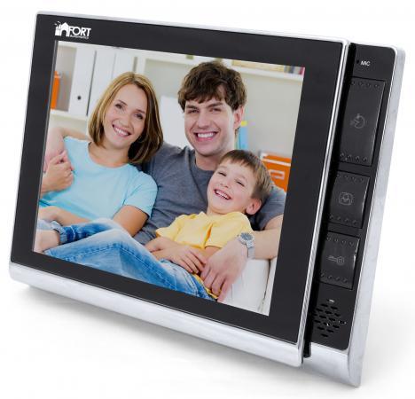 Видеодомофон FORT Automatics C0802HF-01 муляж камеры видеонаблюдения fort automatics dc 027 наружное исполнение красный светодиод ret фиоле