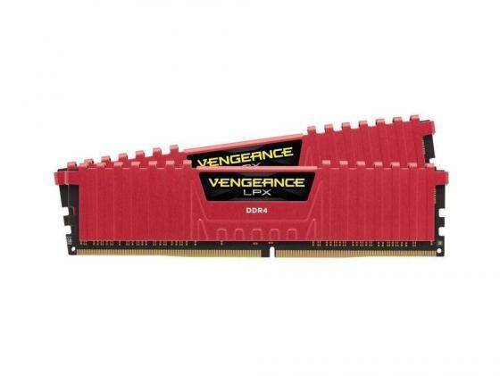 Оперативная память 8Gb (2x4Gb) PC4-21300 2666MHz DDR4 DIMM Corsair CMK8GX4M2A2666C16R