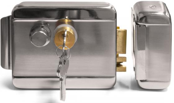 Электромеханический замок накладной FORT Automatics EL101 муляж камеры видеонаблюдения fort automatics dc 027 наружное исполнение красный светодиод ret фиоле