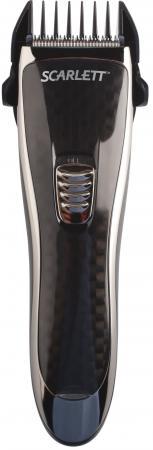 Машинка для стрижки волос Scarlett SC-HC63054 чёрный машинка для стрижки волос scarlett sc hc63c07