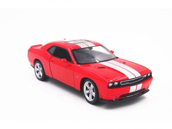 Автомобиль Welly Dodge Challenger SRT 1:24 красный 24049 в ассортименте велосипед challenger mission lux fs 26 черно красный 16