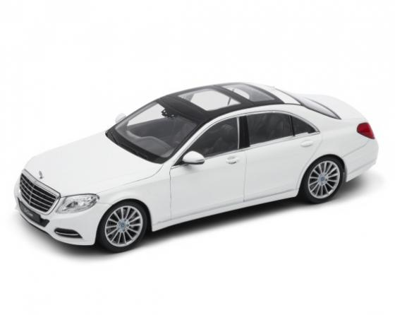 Автомобиль Welly Mercedes-Benz S-Class 1:24 24051  welly mercedes benz m class 1 31