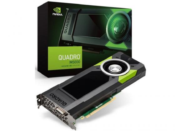 Видеокарта 8192Mb PNY Quadro M5000 PCI-E GDDR5 DVI 4хDP VCQM5000-PB Retail видеокарта 8192mb dell quadro m5000 490 bcxp
