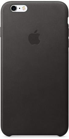 Чехол (клип-кейс) Apple Leather Case для iPhone 6S Plus iPhone 6 Plus чёрный MKXF2ZM/A