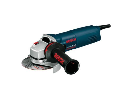 Угловая шлифмашина Bosch GWS 11-125 1100Вт 125мм угловая шлифовальная машина bosch gws 26 230h 0601856100