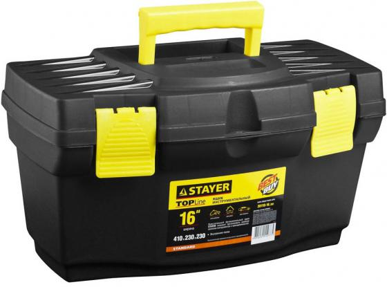 Ящик для инструмента Stayer Standard 16 пластиковый 38110-16_z02 ящик для инструмента с металлическими замками 16 175х210х410мм stels россия 90711