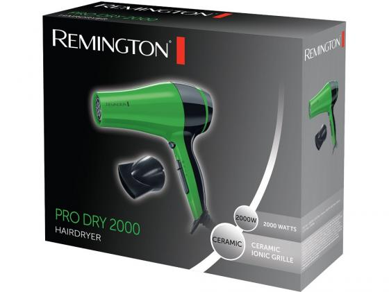 Фен Remington D3080G 2000Вт зелёный фен remington keratin therapy pro dryer ac8000 page 7