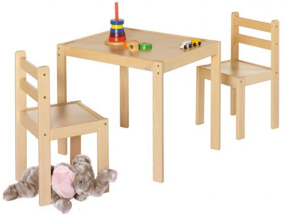 Комплект детской игровой мебели Geuther Kelle&Co (стол+2 стула) набор детской мебели kidkraft набор детской мебели star стол 2 стула 4 ящика