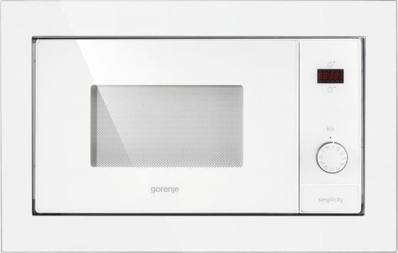 Встраиваемая микроволновая печь Gorenje BM6240SY2W 900 Вт белый