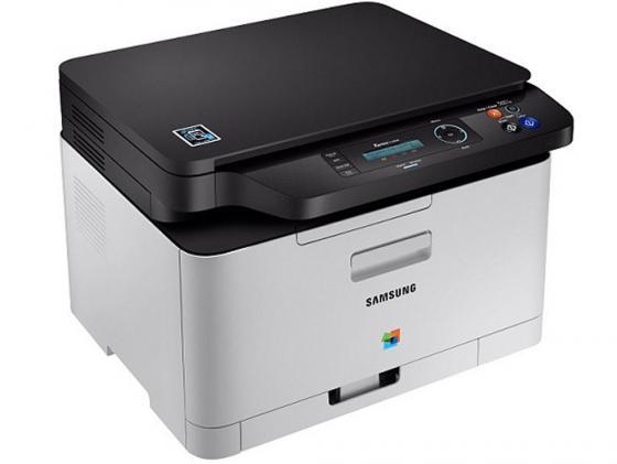 МФУ Samsung SL-C480/XEV цветное А4 18ppm 600x600dpi USB лазерное мфу samsung sl m2880fw sl m2880fw xev